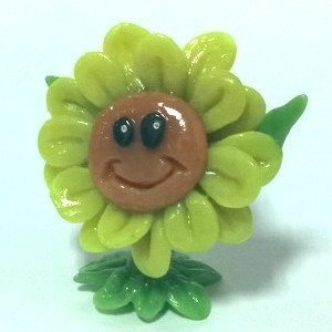 World of Warcraft pet Sunflower Поющий подсолнух Figure