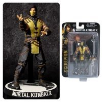 "Фигурка Mezco Mortal Kombat X. 4"" Scorpion Action Figure"