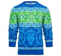 Свитер World of Warcraft Ugly Holiday Alliance Sweater (размер L)