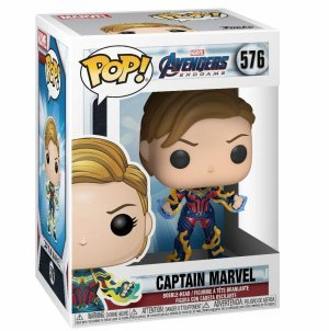 Фигурка Funko Pop Marvel: Avengers Endgame - Captain Marvel with New Hair