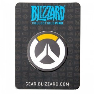 Значок 2016 Blizzcon Blizzard Collectible Pins - Overwatch Logo Pin