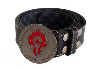 Ремень + Пряжка World of Warcraft Horde Leather Belt