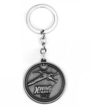 Брелок - Star Wars X-wing Keychain металл