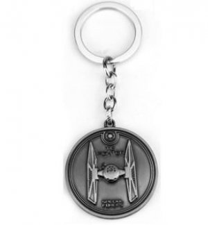 Брелок - Star Wars Tie Fighter Keychain металл