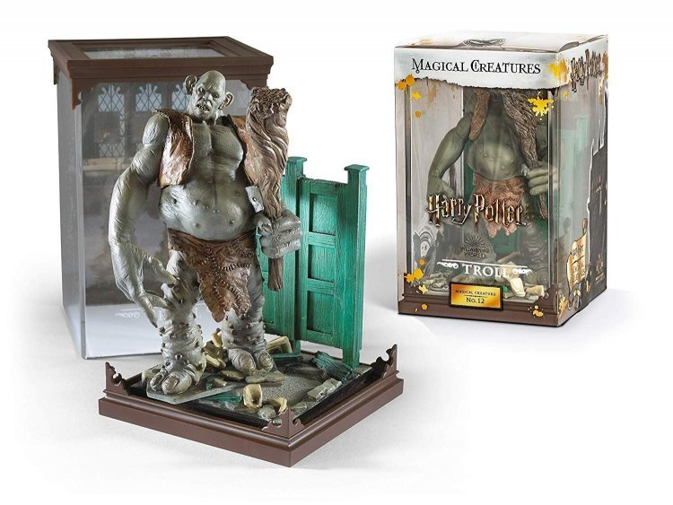 Статуэтка Harry Potter Noble Collection - Magical Creatures No. 12 - Troll