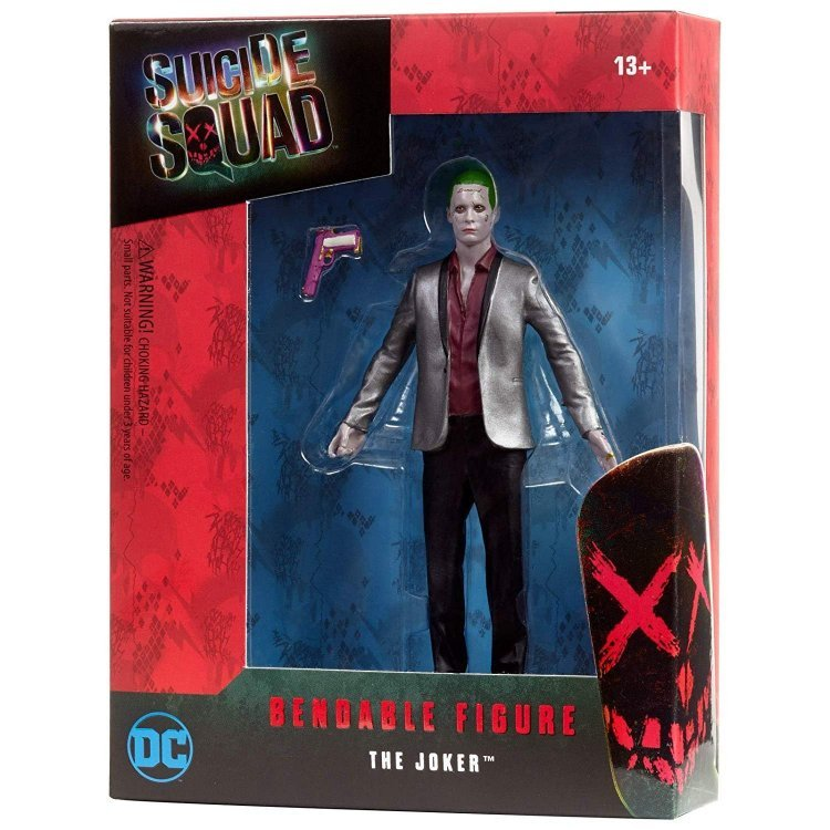 Фигурка DC Comics Suicide Squad The Joker Bendable Action Figure