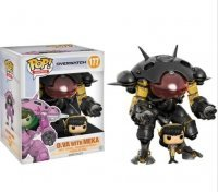 Фигурка Overwatch Funko Pop! Vinyl Carbon Fiber D.Va and MEKA  Buddy (Blizzard Exclusive)