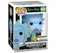 Фигурка Фанко Рик и Морти Funko Pop! Rick and Morty - Hologram Rick Clone Amazon Exclusive