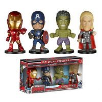 Набор Avengers Age of Ultron Mini Wacky Wobbler 4-Pack