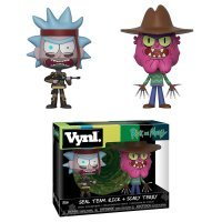 Фигурка Funko Vynl: Rick and Morty - Seal Rick and Scary Terry