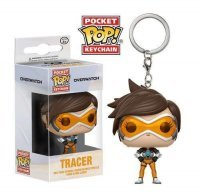 Брелок - Funko Pocket Pop! Overwatch Keychain - Tracer