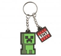 Брелок Minecraft Creeper Sprite Key Chain JINX