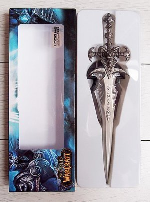 Frostmourne  Model World of Warcraft  full Metal Weapon