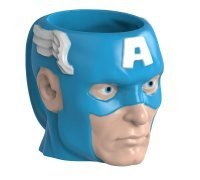 Чашка Avengers - Captain America Marvel 14 oz. Sculpted Ceramic Mug