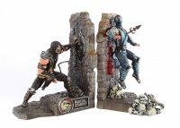 Статуэтка Mortal Kombat Kollectors Edition SubZero Scorpion Bookends Statue