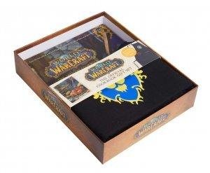 Подарочный набор Gift Set World of Warcraft Cookbook: Книга + фартук Орда/Альянс