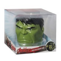 Чашка Avengers - Hulk Molded Marvel 16 oz. Mug