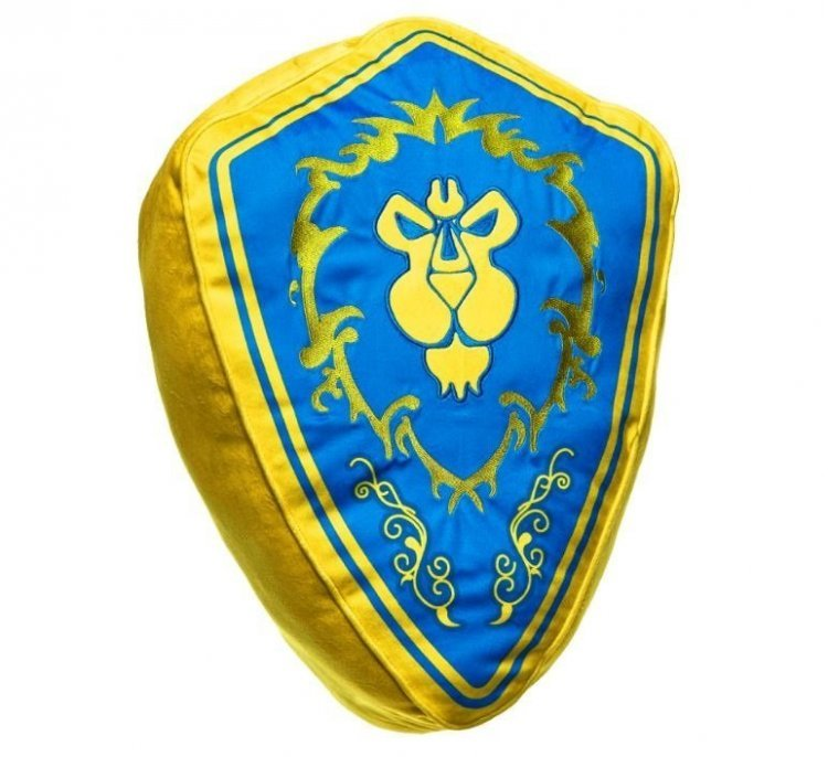 Мягкая игрушка подушка - World of Warcraft Faction Pillow - Alliance