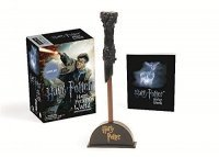 Фигурка Harry Potter - Wizard's Wand with Sticker Book: Lights Up! (Miniature Editions)
