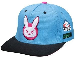 Кепка JINX Overwatch - Ultimate D.Va Snap Back Hat Бейсболка Овервотч