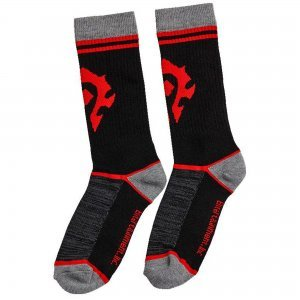 Носки Орда Mens Horde World of Warcraft Gamer Crew Socks
