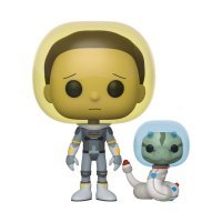 Фигурка Фанко Рик и Морти Funko Pop! Rick and Morty - Space Suit Morty with Snake